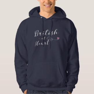 British At Heart Hoodie, Great Britain Hoodie