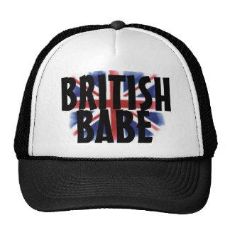 British Babe Snapback Cap