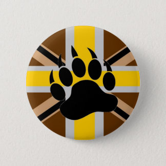 British Bear Pride Flag 6 Cm Round Badge