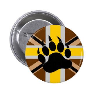 British Bear Pride Flag 6 Cm Round Badge
