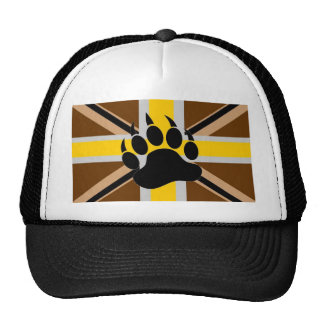 British Bear Pride Flag Cap