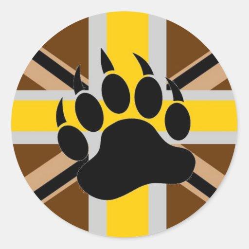 British Bear Pride Flag Sticker