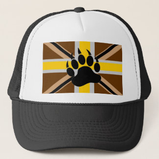 British Bear Pride Flag Trucker Hat