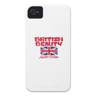 BRITISH beauty designs Case-Mate iPhone 4 Case