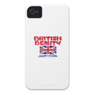 BRITISH beauty designs iPhone 4 Case-Mate Cases