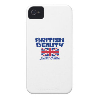 BRITISH beauty designs iPhone 4 Covers