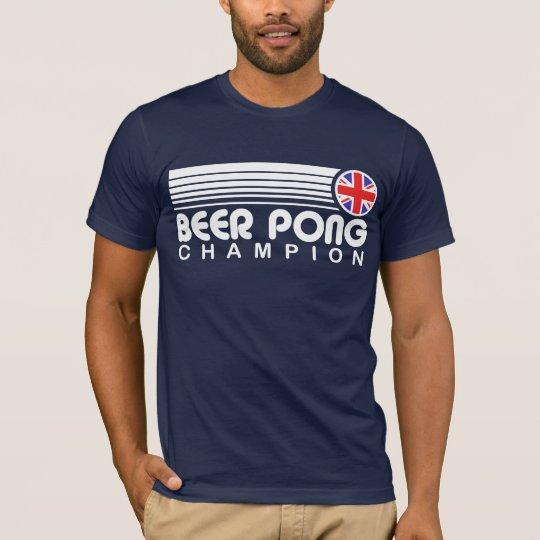 British Beer Pong Champion T-Shirt