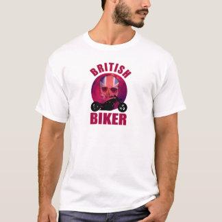 British Biker Skull Chop T-Shirt