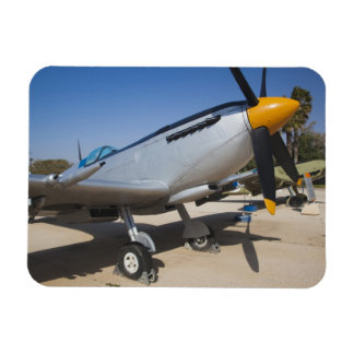 British-built Spitfire fighter Rectangular Photo Magnet