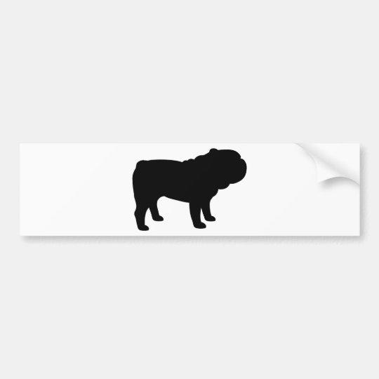 British Bulldog Bumper Sticker