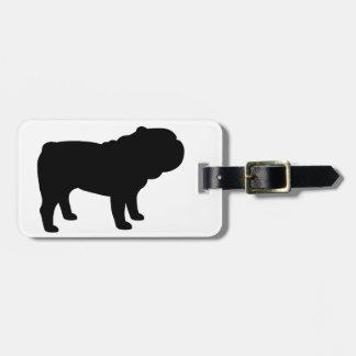 British Bulldog Luggage Tag