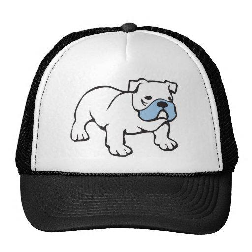 British Bulldog Motif Tshirt Hats