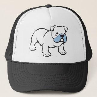 British Bulldog Motif Tshirt Trucker Hat