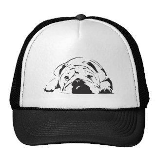 British Bulldog Stencil Trucker Hats