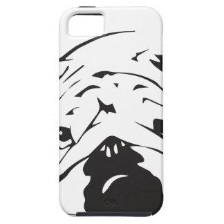 British Bulldog Stencil iPhone 5 Cover
