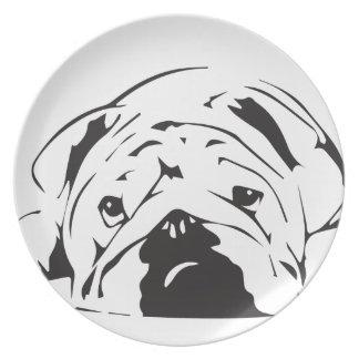 British Bulldog Stencil Plate