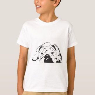 British Bulldog Stencil T-Shirt