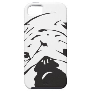British Bulldog Stencil Tough iPhone 5 Case