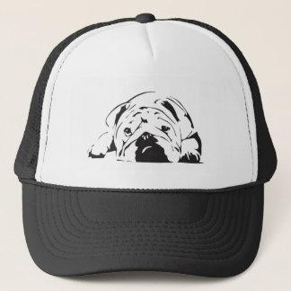 British Bulldog Stencil Trucker Hat