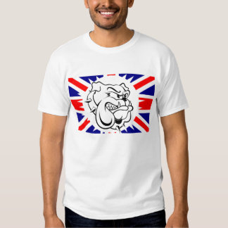 British bulldog transparent shirt