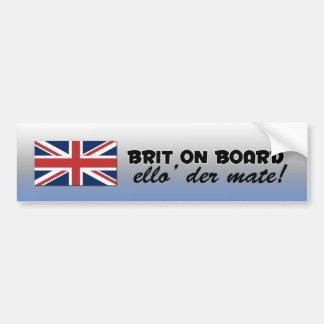 British bumper sticker