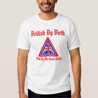 British By Birth T Shirts