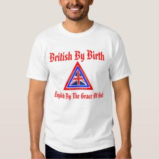 British By Birth Tees