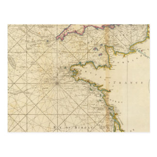 British Channel, Bay of Biscay Postcard