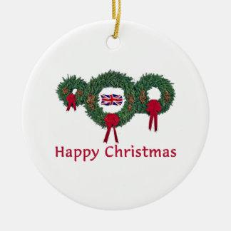 British Christmas 2 Christmas Ornament