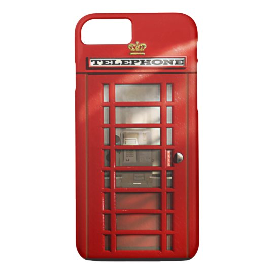British City of London Red Phone Booth iPhone