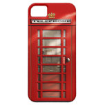 British City of London Red Phone Booth iPhone SE iPhone 5 Case