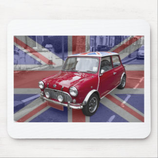 British Classic Mini car Mouse Mat