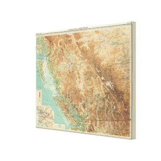 British Columbia 2 Canvas Print