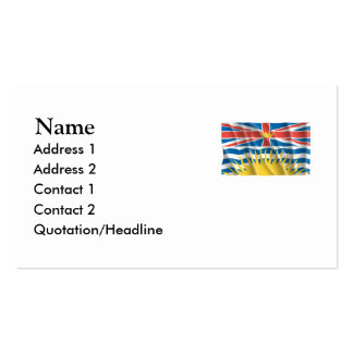 BRITISH COLUMBIA PACK OF STANDARD BUSINESS CARDS