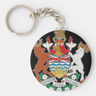 British Columbia (Canada) Coat of Arms Keychain