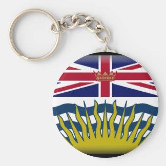 British Columbia (Canada) Flag Keychain