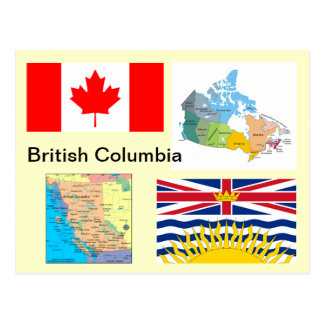 British Columbia Canada Postcard