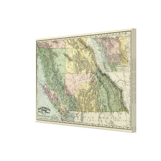 British Columbia Canvas Print