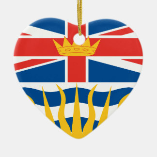 BRITISH COLUMBIA CHRISTMAS ORNAMENT