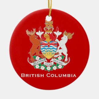 British Columbia* Christmas Ornament