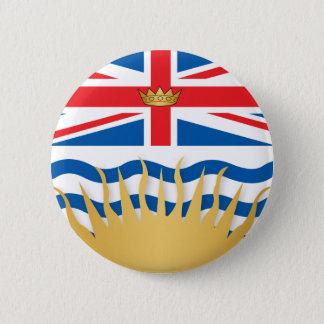 British Columbia flag 6 Cm Round Badge