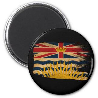 British Columbia Flag 6 Cm Round Magnet