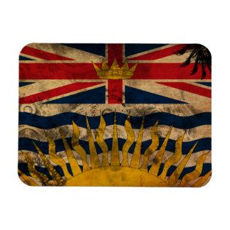 British Columbia Flag Rectangular Photo Magnet
