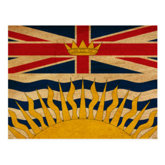 British Columbia Flag Postcard