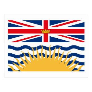 British Columbia Flag Postcard