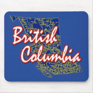 British Columbia Mouse Mat