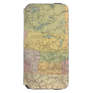 British Columbia, North West Territory Incipio Watson™ iPhone 6 Wallet Case