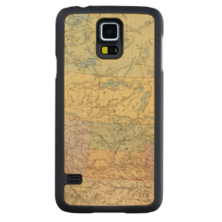 British Columbia, North West Territory Maple Galaxy S5 Case