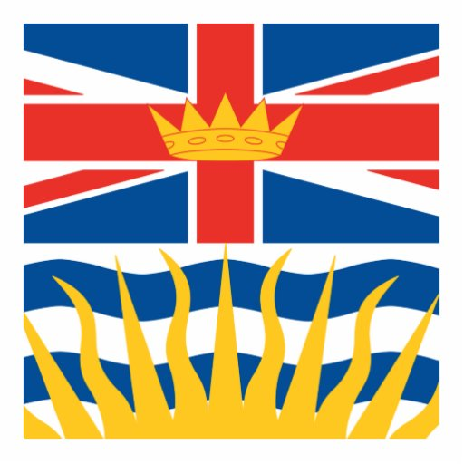 BRITISH COLUMBIA CUT OUT