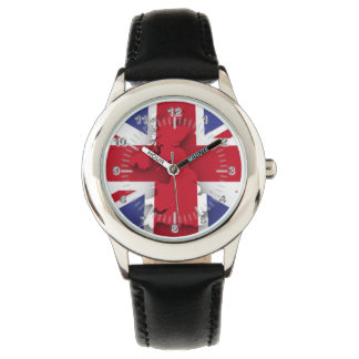British country flag watch